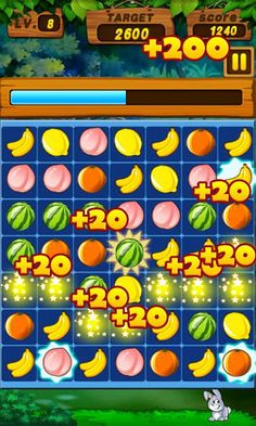 Fruits Legend is a match-three puzzle game with fresh gameplay! Clear three or more same fruits to score points, try to use game props to make more combos!   Click for review and download: http://www.apklist.com/2013/06/fruits-legend-v-1-0-3-apk.html