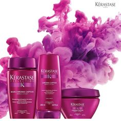 Kerastase Bain Chroma Captive - this is one of the shampoos I use.  I combine it with the Magistral conditioner.