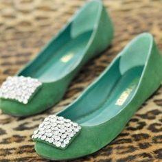 Turquoise flats... I want!!
