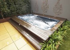 yip swim swim spa Hot Tub Accessories, Landscaping Images, Jacuzzi, Gazebo, Swimming Pools, Photo Galleries, Landscape, Gallery, Michael Phelps