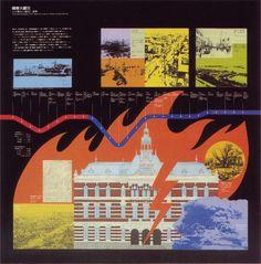 Beautiful work from Ryohei Kojima, a Japanese designer operating in the 1970's. Via Grain Edit additional images via 50 Watts