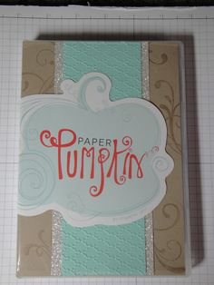 How to store MY PAPER PUMPKIN stamps!