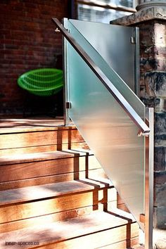 Of course, so as to reach a higher amount in our home, one needs to make use of the stairways. The stairways come in different lovely concepts. It can be a straightforward modern-day stairs along w… Balcony Glass Design, Glass Balcony Railing, Patio Railing, Balcony Railing Design, Glass Stairs, Patio Stairs, Deck Design, Staircase Design Modern, Staircase Railing Design
