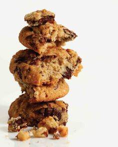 Banana-Walnut Chocolate Chunk Cookies