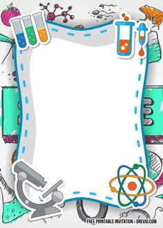 biology portada Get FREE Science Party Birthday Invitation Templates party FREE Science Party Birthday Invitation Templates Minecraft Birthday Invitations, Birthday Invitation Templates, Disney Invitations, Science Experiments Kids, Science Fair, Science Projects, Science Classroom Decorations, Mad Scientist Party, School Frame