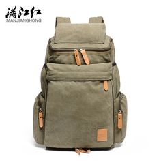 ==> [Free Shipping] Buy Best Manjianghong 328 Promotion Canvas Bag Man's Backpack School Bag High Quality Big Capacity Travel Men Bag 1123 Online with LOWEST Price   32776728209