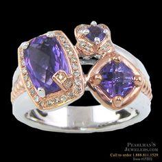 Bellarri Amethyst diamond halo ring from Pearlman's Jewelers Diamond Gemstone, Halo Diamond, Amethyst Rings, Luxury Jewelry, Custom Jewelry, Unique Jewelry, Expensive Jewelry, Rose Gold Jewelry, Wholesale Jewelry