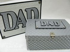 Hi Everyone! Its Katie here and its another Tuesday again. I've got another little box for you today - can you have enough? Not me, I just adore all these paper boxes you find out in blog land. Today's tutorial is specifically for a Dad in your life or even just a great guy you might know. I had so much fun creating this look and I think it would work for just about any guy. My husband doesn't wear ties to work and there are tons of super cute tie stamps and cards out there, but m...