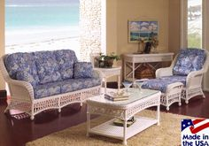 Kiawah Rattan and Wicker Sunroom Furniture from Classic Rattan - Modern Wicker Shelf, Wicker Tray, Wicker Table, Wicker Sofa, Wicker Planter, Wicker Baskets, Ottoman Sofa, Wicker Dresser, Wicker Purse