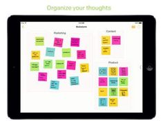 Post-it Plus app. Students can use digital sticky notes as they read.