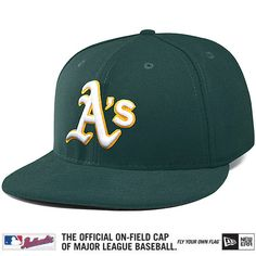 Oakland Athletics Authentic Collection On-Field 59FIFTY Road Cap - MLB.com Shop