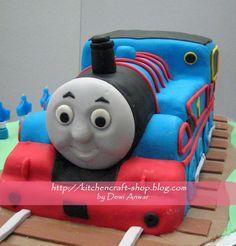 Thomas The Tank Engine | Kitchen Craft Cake