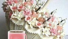 Όμορφη καλημέρα σε όλους με όμορφες eikones.top...! GIFs - eikones top Good Morning Good Night, Floral Wreath, Wreaths, Decor, Decoration, Door Wreaths, Dekoration, Deco Mesh Wreaths, Inredning