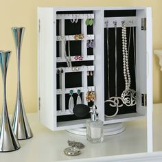 Baxton Studio White Jewelry storage
