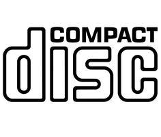 compact disc CD text logo