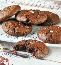 Galletas de chocolate {sin gluten, sin lactosa}