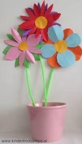 Afbeeldingsresultaat voor bloem knutselen