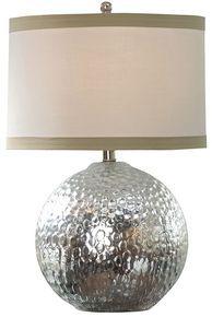 Regina Andrew Mirror Glass Hammered Sphere Lamp (different shade)