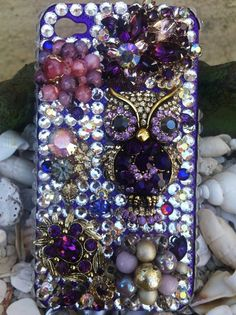 Custom unique one of a kind iPhone 4/4s cover by Kianaskases, $68.00