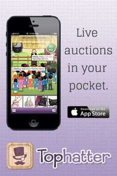 Repin if you love the items you see on Tophatter! Now you can bid on-the-go with our new app for iPhone! Download it here: http://tophatter.com/app.