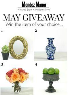 May #giveaway! Sign