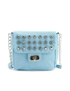 Mini Studded Chain-Strap Bag: Charlotte Russe