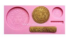 Versace Medusa – Silicone Mold #versacesiliconemold