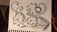 #zentangle #flowers