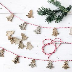 You searched for Easy Birch Bark Christmas Tree Garland - A Pretty Life In The Suburbs Christmas Tree Cut Out, Christmas Tree Garland, Christmas Ornaments To Make, Easy Christmas Crafts, Simple Christmas, Christmas Time, Merry Christmas, Birch Bark Decor, Birch Bark Crafts
