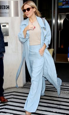 Street Style Chic: Kate Hudson - March 4, 2016 from InStyle.com