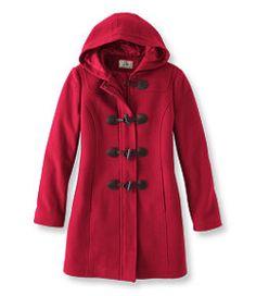 #LLBean: Classic Lambswool Duffel Coat