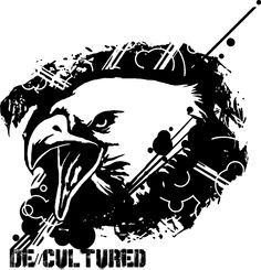 De\\Cultured - Eagle - Urban Design of a Eagle using Stencil Graffiti Style Artwork US Store for Eagle Design : http://decultured.spreadshirt.com/de-cultured-eagle-I1000228522 Facebook Page : https://www.facebook.com/Decultured Twitter Page : https://twitter.com/DeCultured_Co