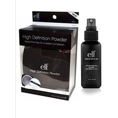 elf Studio High Definition Loose Face Powder with e.l.f. Makeup Mist and Set,... >>> See this great product. (This is an affiliate link) #Makeup