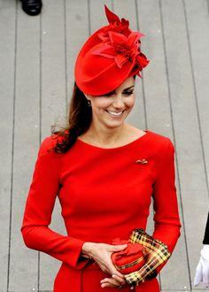 Duchess of Cambridge, Queen's Diamond Jubilee Pageant, 2012