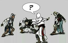 Assasians Creed, All Assassin's Creed, Assassins Creed Memes, Ezio, Assassin's Creed Brotherhood, Video Games Girls, Anime Demon, Pictures To Draw, Game Character