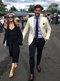 Olivia Palermo and Johannes Huebl at Wimbledon