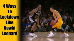 4 Defensive Strategies - Basketball Tips & Techniques:  Man To Man   Kaw...