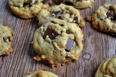 Drooling over these vegan coconut chocolate chunk cookies.   #danasedibleaffair #vegan