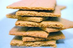 These Gingerbread Flavored Crackers are SUPER easy to make. They are Gluten/Dairy Free, Rice Free and Vegan!