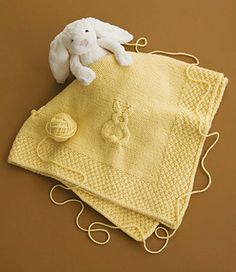 Sunny Bunnies by Linda Cyr  Published in  60 Quick Baby Blankets