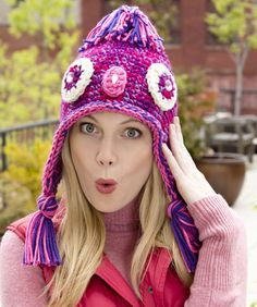 Give a Hoot Crochet Owl Hat