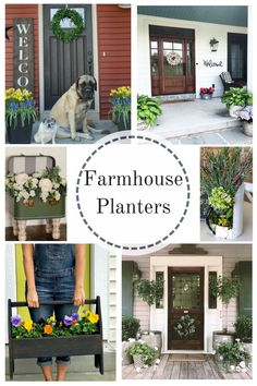 Flowers welcome your guests with beauty and a sweet fragrance. We want to give you a little inspiration on how to make our farmhouse planters look just right. We have tiered trays repurposed as planters, enamel grain scoops given a second life and even a suitcase with a surprise makeover.