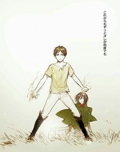 Eren and Mikasa ♡ EreMika | Shingeki no Kyojin (Attack on Titan) #SnK