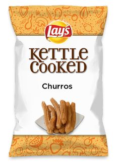 Wouldn't Churros be yummy as a chip? Lay's Do Us A Flavor is back, and the search is on for the yummiest chip idea. Create one using your favorite flavors from around the country and you could win $1 million! https://www.dousaflavor.com See Rules.