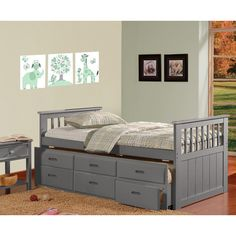 Found it at Wayfair - Brian Twin Captain Bed with 3 Drawers