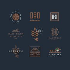 The Kitchen Sink, Overflowing With Design & Illustration — Jay Fletcher - Logos Logo Branding, 2 Logo, Typography Logo, Lettering, Seal Logo, Corporate Branding, Brand Identity Design, Graphic Design Branding, Hipster Graphic Design
