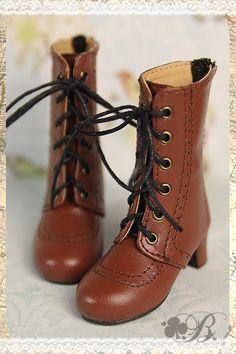 【B.C】【现货】英伦风高跟靴 - 4分/MSD/RL - 4色 BJD鞋子靴子-淘宝网