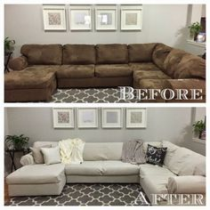 Sectional Couch Cover Diy Sofa