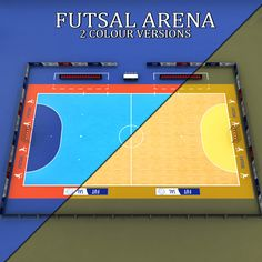 Futsal court arena Model available on Turbo Squid 8d0258939f135