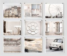 Paris Photography Collection via The Paris Print Shop on Etsy {We have shared many Etsy Treasuries together! Love her work!}